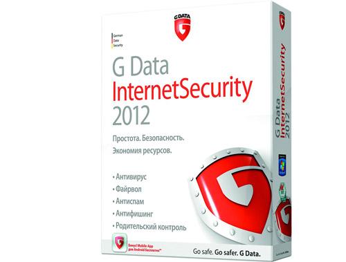 G Data InternetSecurity 2012